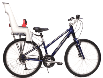 bike rental, bicycle rental, mountain bike rental, kids bike seat rental, kids bike rental