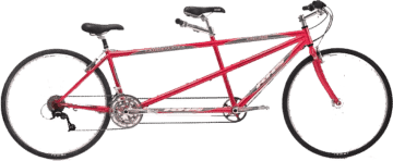 tandem bike rental, bike rental, 2-Wheeled Bike Rental, Bicycle Rental