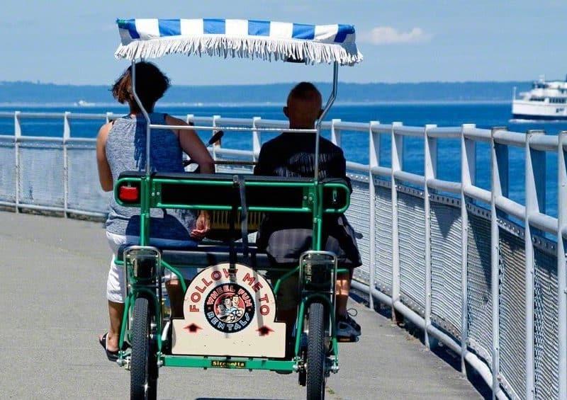 Bike rentals Alki Beach