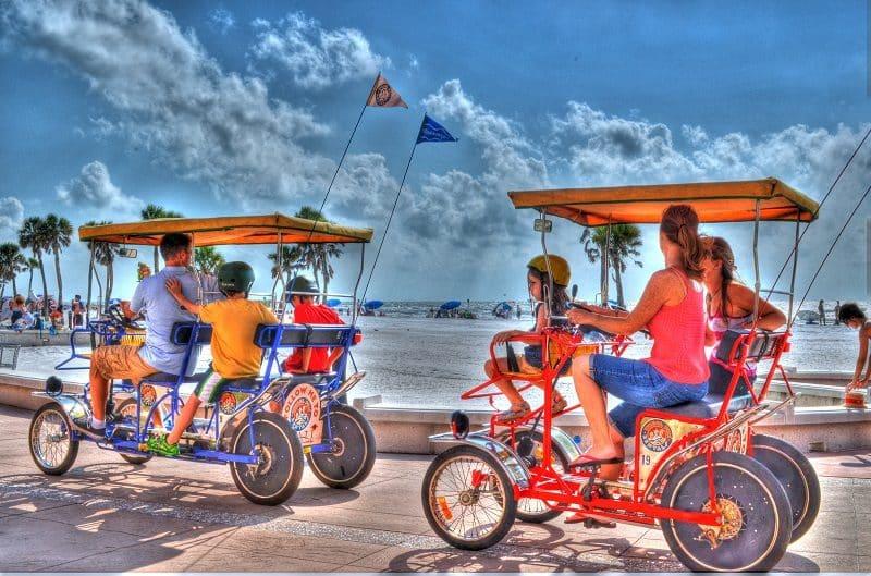 Bike rentals at Dana Point