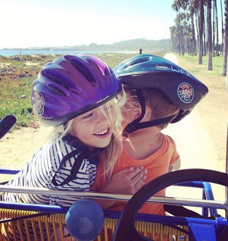 Family beach bike rentals Ventura