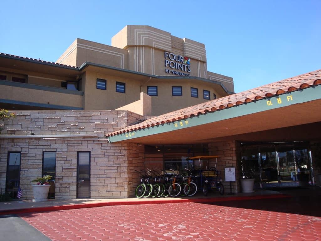 Ventura bike rentals bike tours Four Points by Sheraton