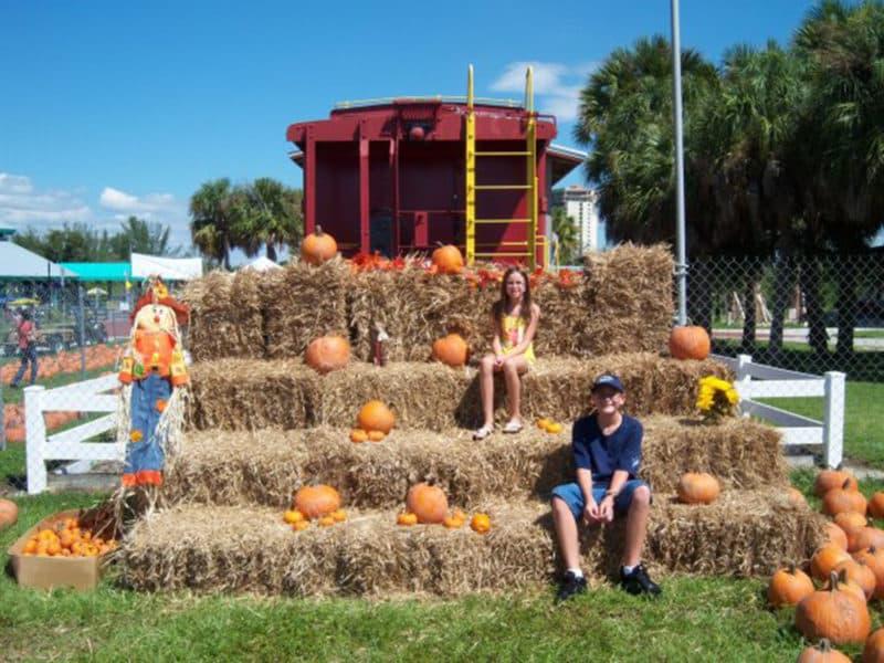 Wheel Fun Rentals Pumpkin Patch at Lakes Regional Park