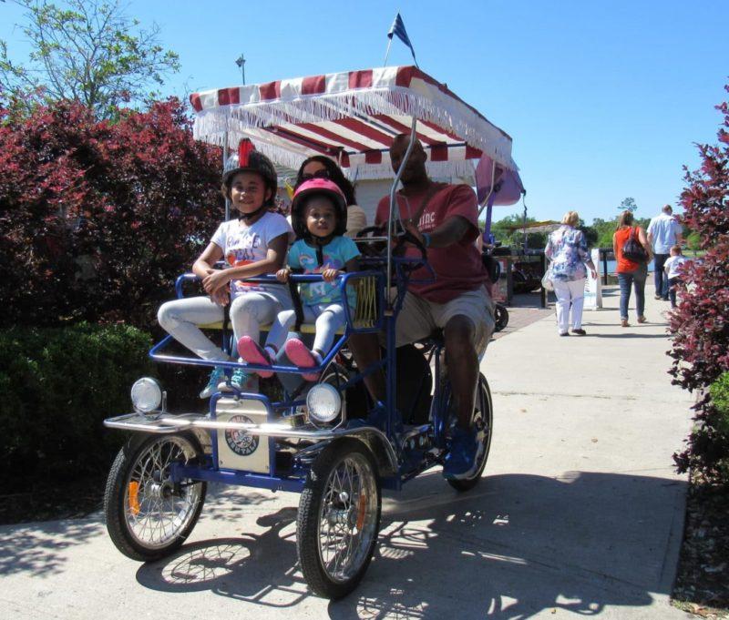Bike rentals from Wheel Fun Rentals in New Orleans
