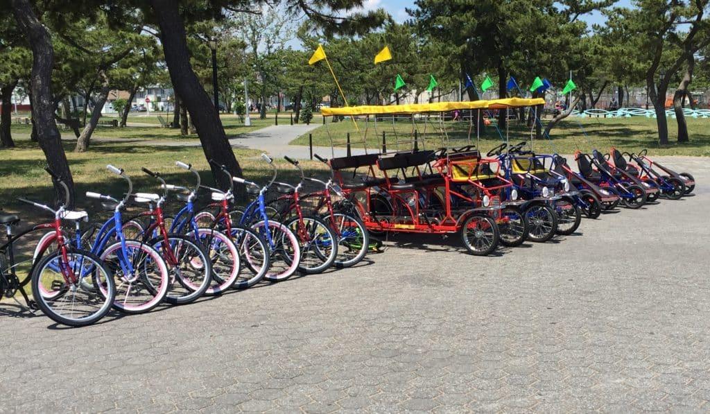 Bike Rentals FDR Boardwalk