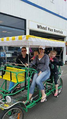 Bike rentals in Seaside, OR