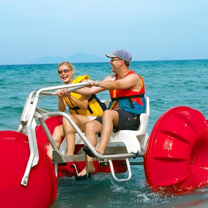 Ocean water trike rentals