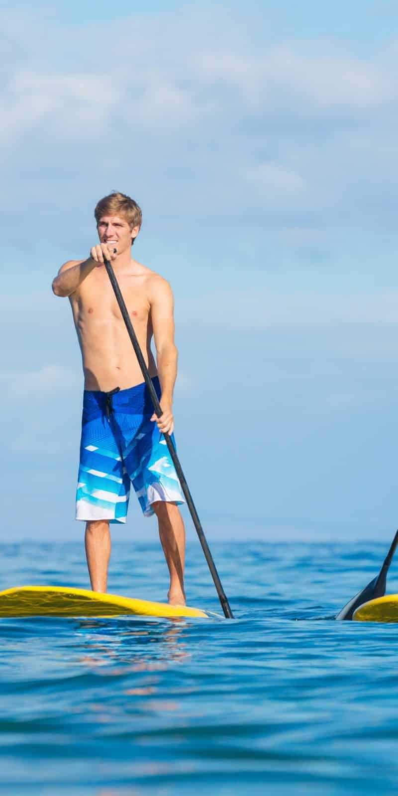 Ocean stand up paddleboard rentals