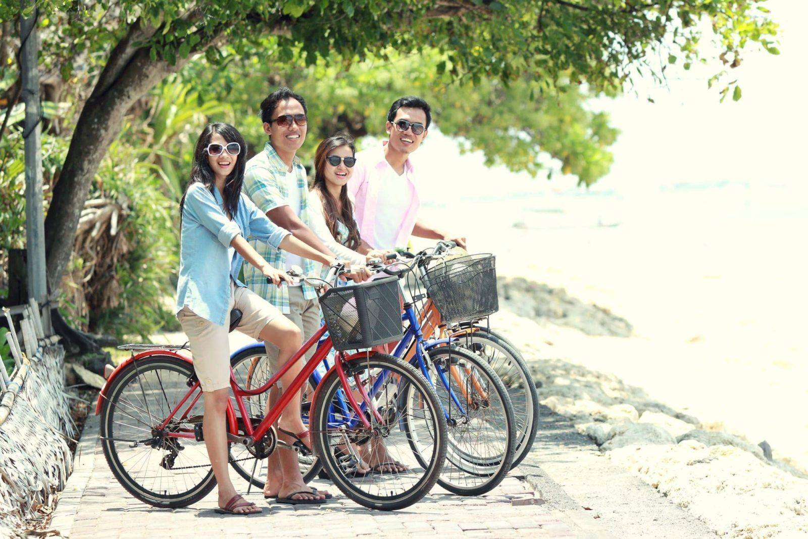 Beach bike rentals