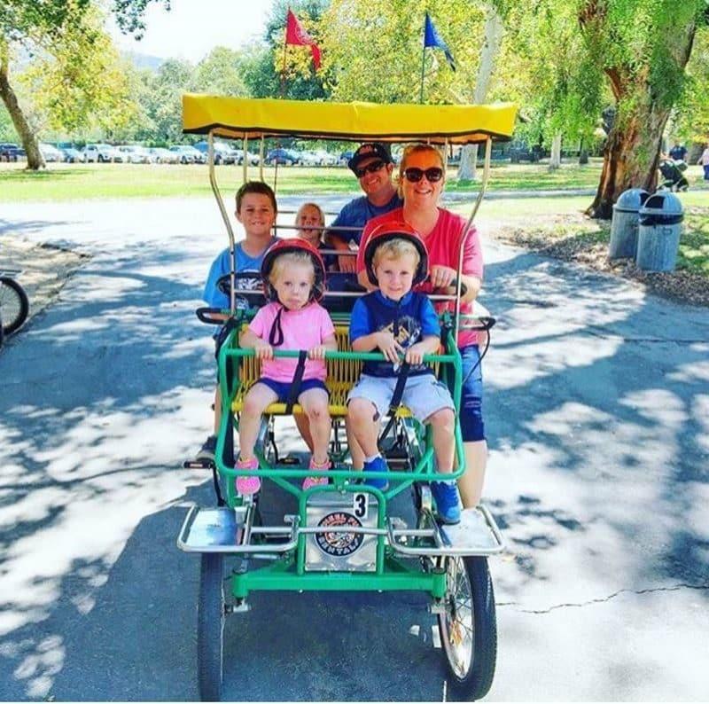Family bike rentals