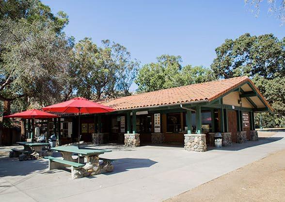 Irvine Park Snack bar