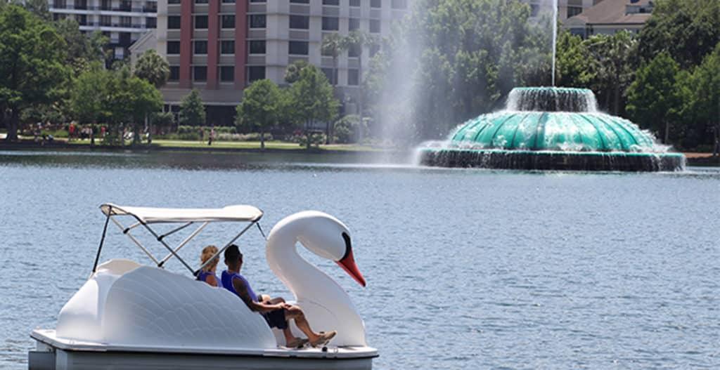 Wheel Fun Rentals Echo Park Swan Boats