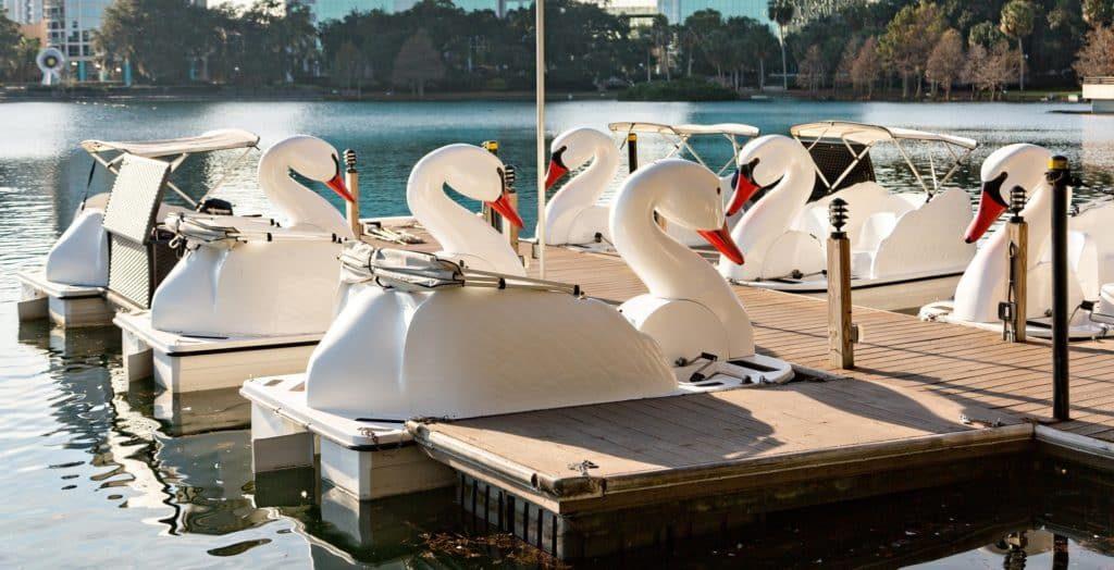 Echo Park Pedal Boats by Wheel Fun Rentals