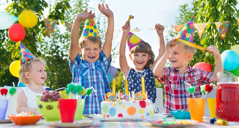 Birthday Party at Wheel Fun Rentals biking and boating events