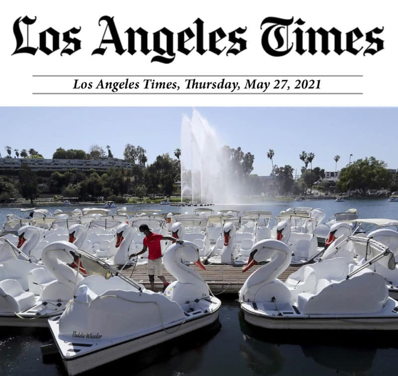 Los Angeles Times Echo Park Reopening
